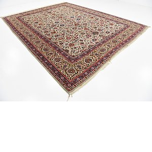10' 3 x 11' 10 Kashan Persian Rug