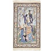 Link to 2' 4 x 3' 10 Isfahan Persian Rug