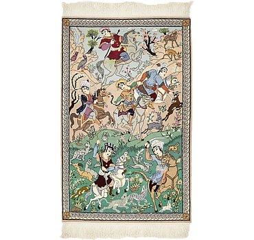 86x132 Isfahan Rug