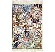 Link to 2' 4 x 3' 5 Isfahan Persian Rug