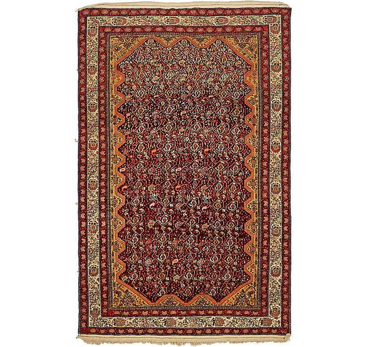 3' x 4' 10 Tabriz Persian Rug