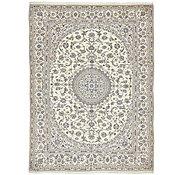 Link to 9' 7 x 13' Nain Persian Rug