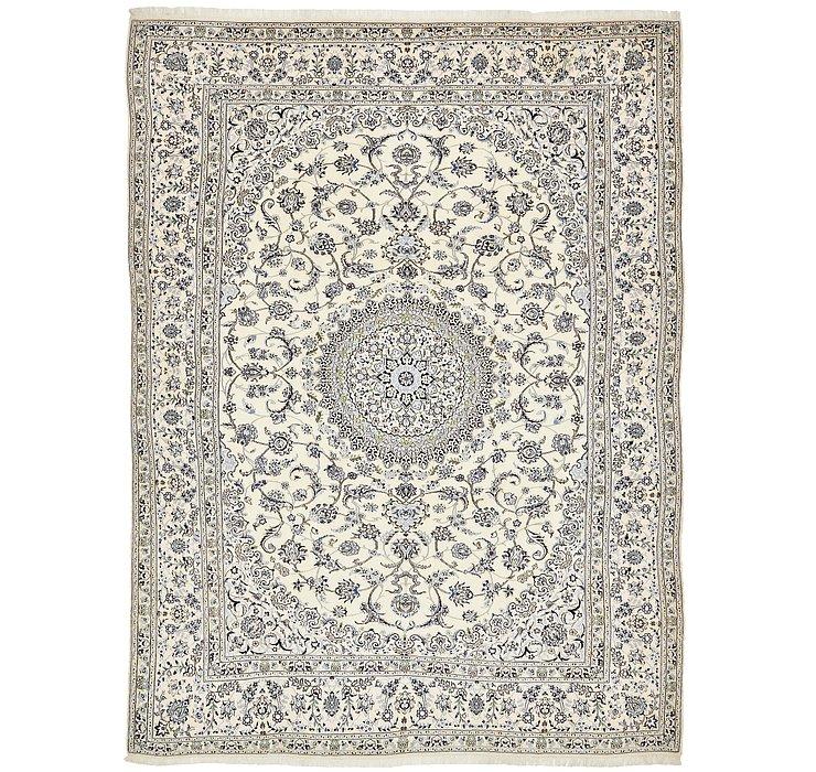 HandKnotted 9' 7 x 13' Nain Persian Rug