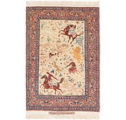 Link to 3' 4 x 5' 3 Isfahan Persian Rug
