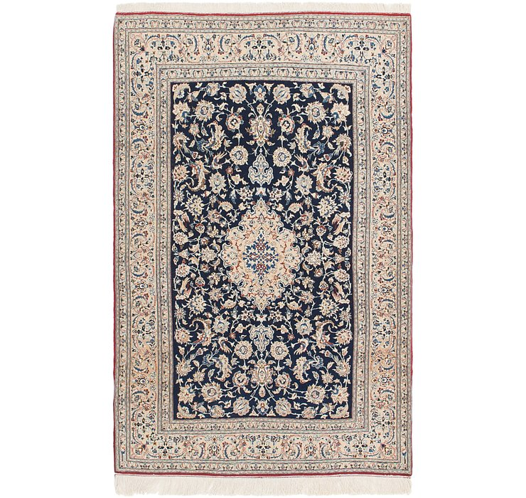 3' 9 x 6' Isfahan Persian Rug