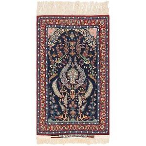 2' 3 x 4' Isfahan Persian Rug
