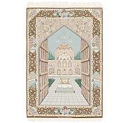 Link to 4' 4 x 6' 6 Isfahan Persian Rug