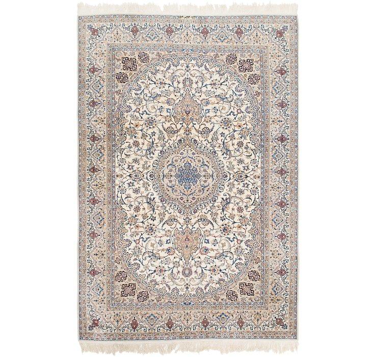 6' 7 x 10' 2 Nain Persian Rug