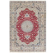 Link to 8' 8 x 12' 4 Nain Persian Rug