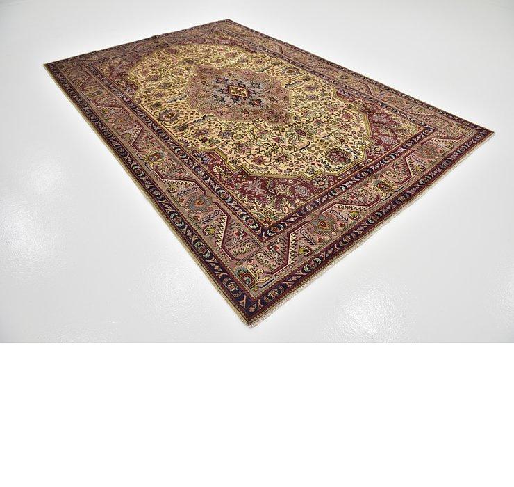 6' 4 x 9' 4 Tabriz Persian Rug