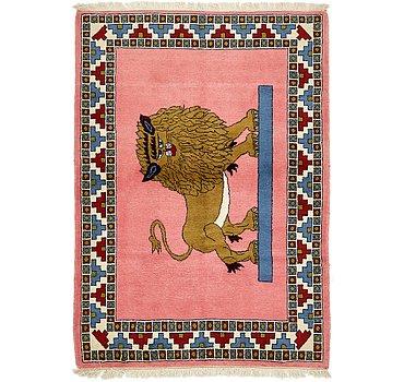 109x150 Ghashghaei Rug