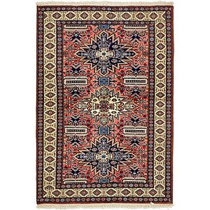 3' 6 x 5' Kazak Oriental Rug