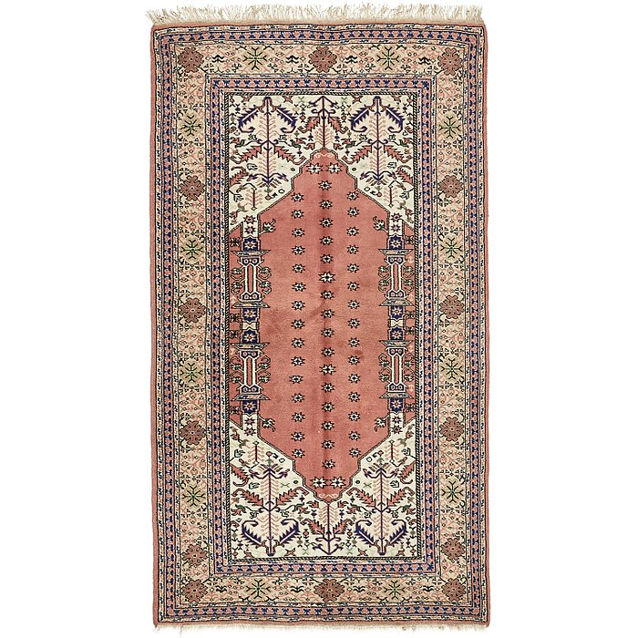 4' 6 x 8' Lahour Oriental Rug
