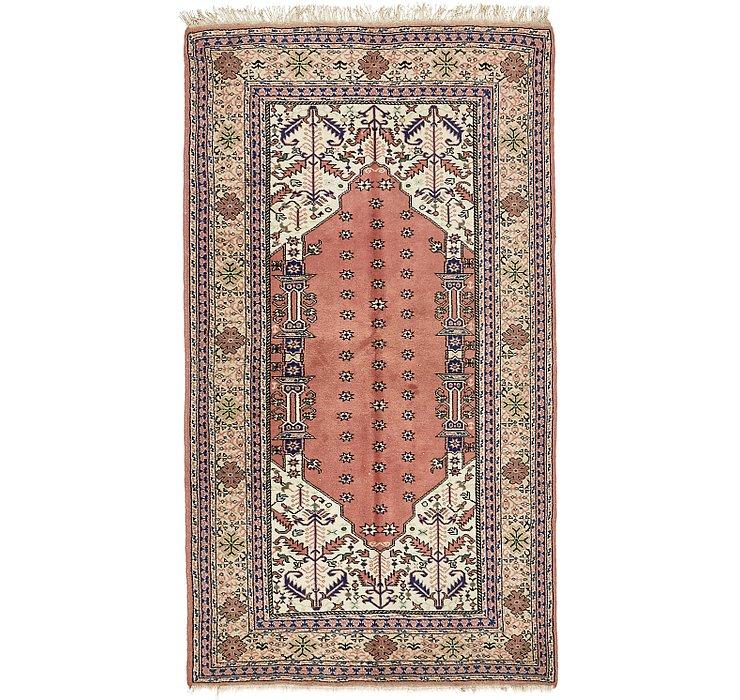4' 6 x 8' Lahour Oriental Rug