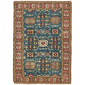 3x5 Green Kazak  Rugs!