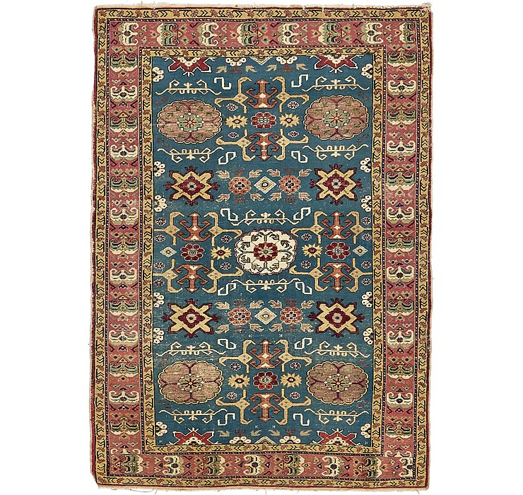 3' 11 x 5' 7 Kazak Oriental Rug