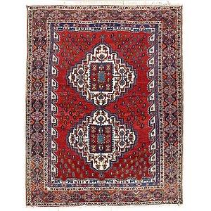 5' x 5' 5 Ghoochan Persian Squar...