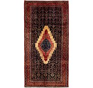 Link to 4' 9 x 9' Sanandaj Persian Runner Rug