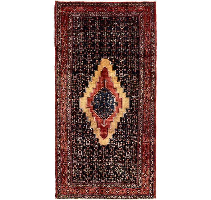 4' 9 x 9' Sanandaj Persian Runner...