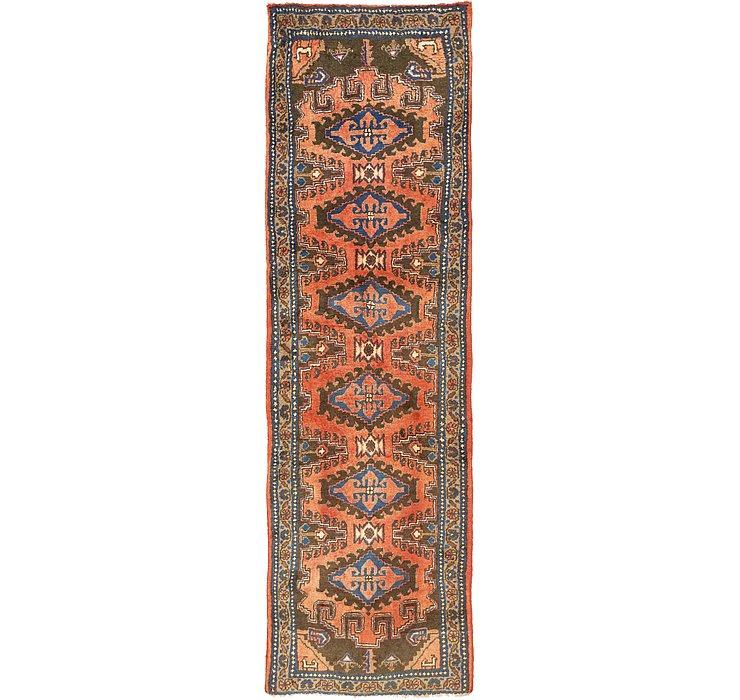 3' 6 x 11' 4 Viss Persian Runner Rug