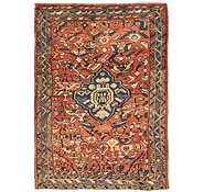 Link to 4' 7 x 6' 3 Hamedan Persian Rug