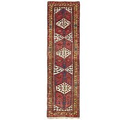 Link to 3' 9 x 14' Hamedan Persian Runner Rug