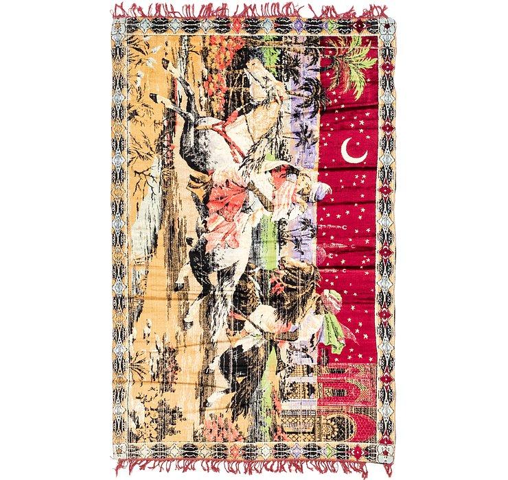4' 2 x 6' 8 Tapestry Rug