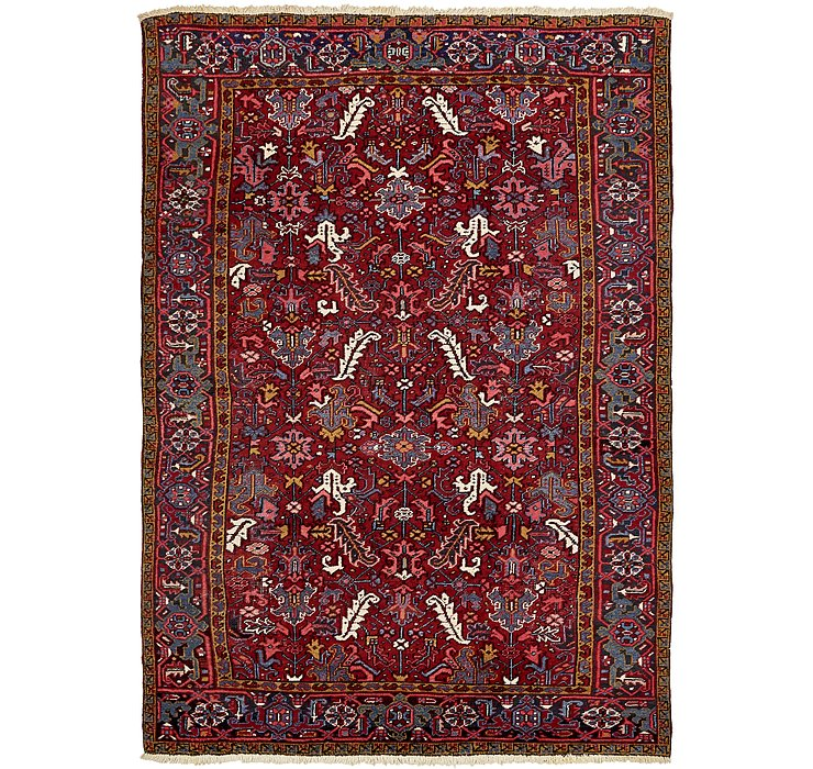 7' 3 x 10' 6 Heriz Persian Rug