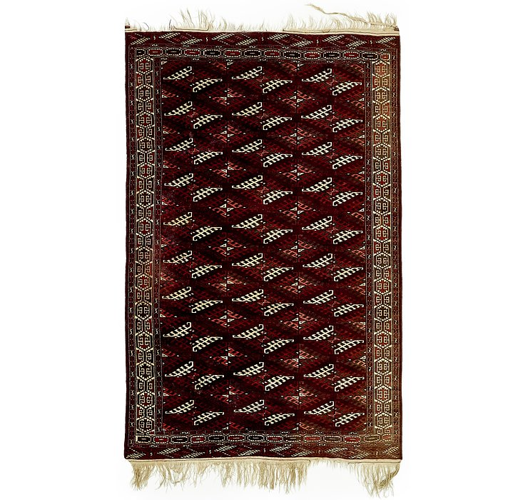 6' 8 x 10' 6 Torkaman Persian Rug