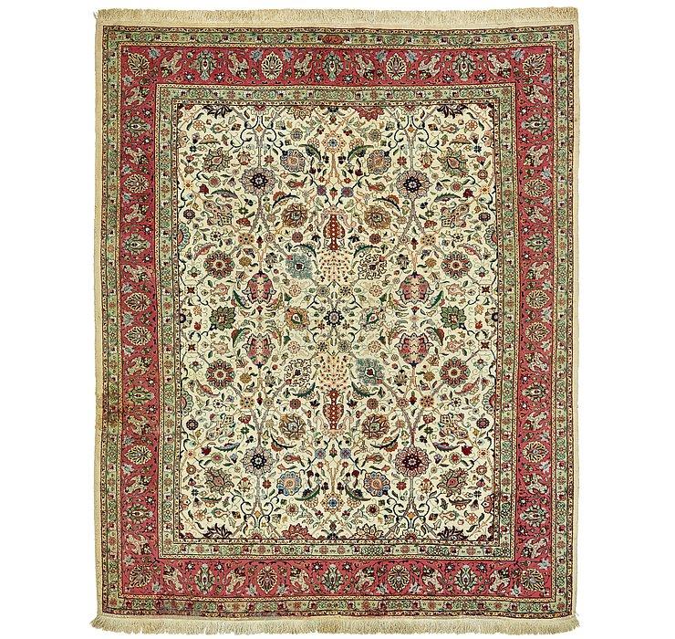9' 7 x 12' 2 Tabriz Oriental Rug