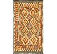 Link to Unique Loom 3' 9 x 6' 6 Kilim Maymana Rug