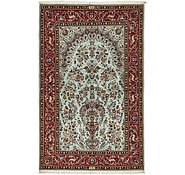 Link to 4' 7 x 7' 4 Kashan Persian Rug