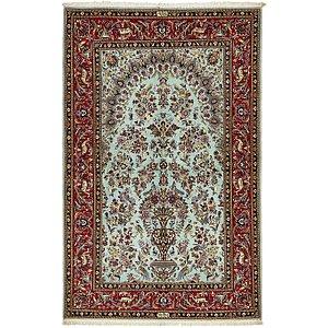 4' 7 x 7' 4 Kashan Persian Rug