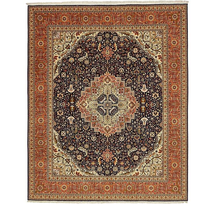 8' 1 x 9' 9 Tabriz Persian Rug