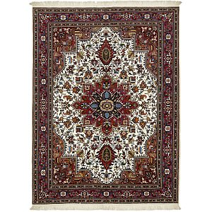 5' x 6' 7 Tabriz Persian Rug