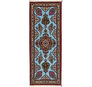 Link to 2' 7 x 6' 9 Qom Persian Runner Rug