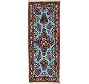 Link to 2' 7 x 6' 9 Qom Persian Runner Rug