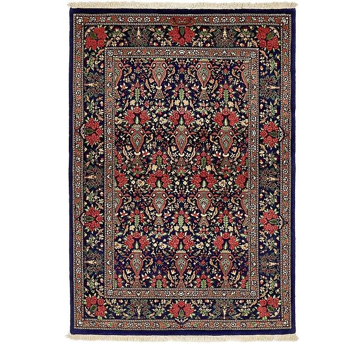 3' 7 x 5' 1 Qom Persian Rug