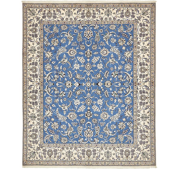 6' 8 x 8' 2 Nain Persian Square Rug