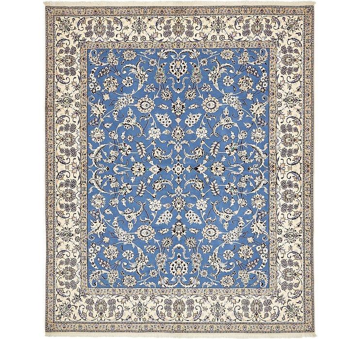6' 8 x 8' 2 Nain Persian Square Rug