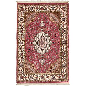HandKnotted 6' 5 x 10' 2 Tabriz Persian Rug