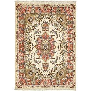 HandKnotted 5' x 7' Tabriz Persian Rug