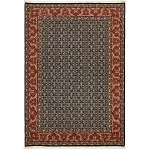 4' 7 x 6' 7 Qom Persian Rug