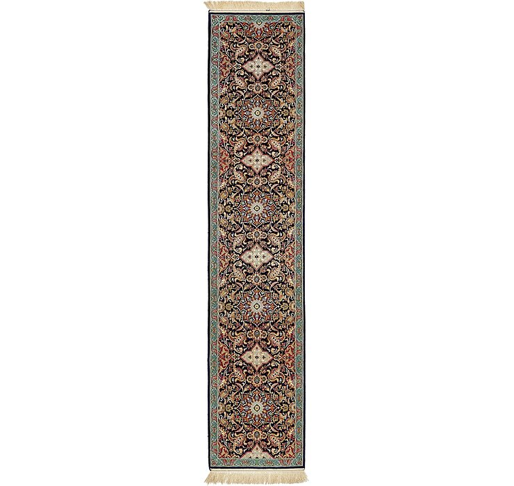 2' 1 x 9' 11 Isfahan Persian Runner ...