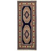 Link to 2' 6 x 6' 6 Tabriz Persian Runner Rug
