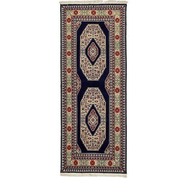 2' 6 x 6' 6 Tabriz Persian Runner Rug