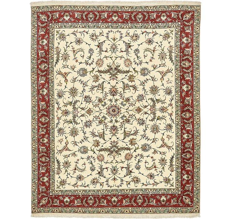 6' 5 x 8' Tabriz Persian Rug