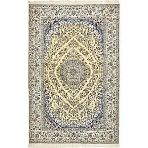 5' 1 x 7' 8 Nain Persian Rug