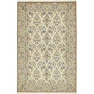 4' 3 x 6' 6 Nain Persian Rug