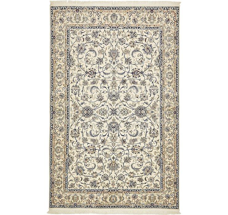 4' 11 x 7' 10 Nain Persian Rug